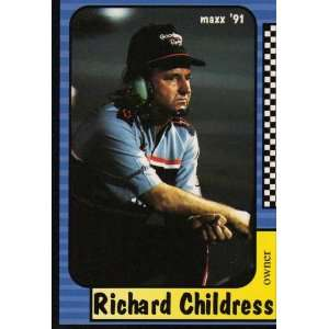1991 Maxx 54 Richard Childress (NASCAR Racing Cards) [Misc