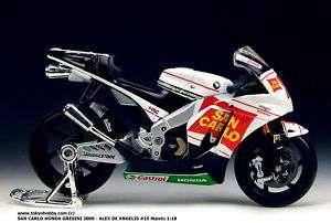ALEX DE ANGELIS #15 HONDA GRESINI MOTOGP 2009 118 NEW