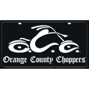 Orange County Choppers 11.5 x 21.5 Mega Tag: Automotive