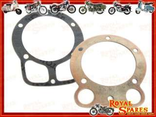 ROYAL ENFIELD 500cc CYLINDER HEAD & BARREL GASKET SET