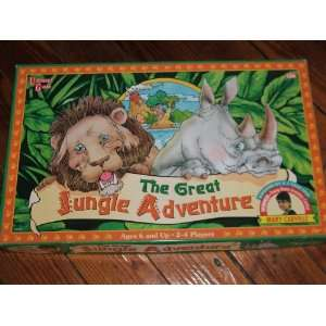 The Great Jungle Adventure Toys & Games