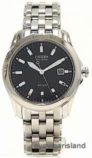 Citizen Eco Drive BM6730 56L Watch Mens Black Dial