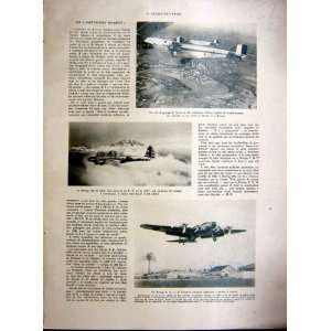Boeing Aviation Aeroplane Air Force French Print 1937