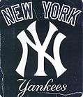 MLB New York Yankees 50x60 Soft Fleece Throw Blanket