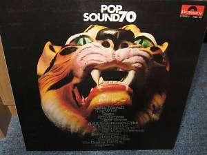 POP SOUND 70 (Red Wax Sampler PROG ROCK Polydor FOC)