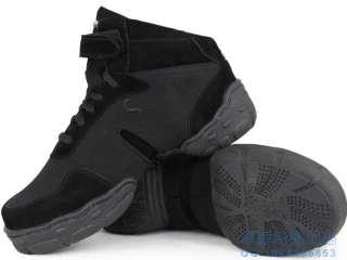 Black Sansha Dance Sneakers Hip Hop / Jazz Dance Shoes