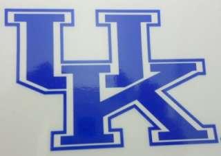 of Kentucky Wildcats Sticker UK Basketball Car Auto NCAA Blue White