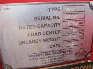 2000 Moffett M5000 Piggyback Truck Mounted Forklift Diesel