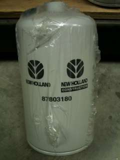 NEW HOLLAND/FORD FUEL FILTER 87803180,33472 **NEW**