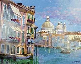 HOWARD BEHRENS HOTEL VENEZIA VENICE, ITALY FINE ART IMPRESSIONISM