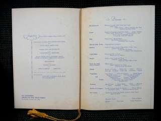 LOT 1938 25pc S.S. COLUMBUS CRUISE DINNER MENUS norddeutscher lloyd