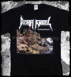 Death Angel The Ultra Violence Black   official t shirt   FAST