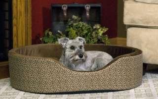CUDDLE SLEEPER DOG BED MEDIUM MOCHA PAW BONE