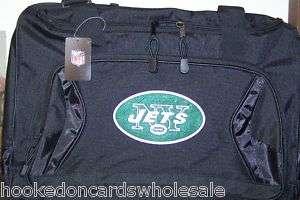 New York Jets NFL Team Logo Duffel Bag