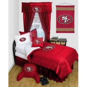 San Francisco 49ers NFL Locker Room Complete Bedroom