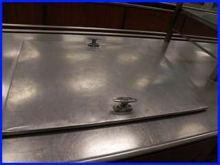 Commercial Stainless Steel Food Service Counter/Line 22 Feet Cooler