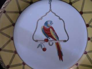 CHELSEA HOUSE PAPAGAIO CHARGER PARROT BIRD 12