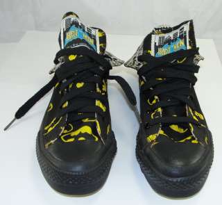 Authentic Batman Converse All Star Sneakers Shoes Canvas High Tops