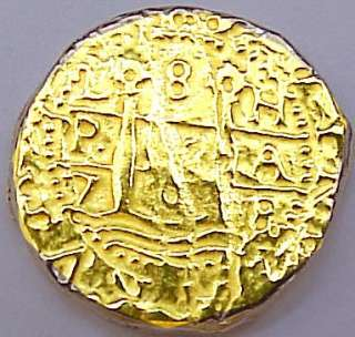 50 RECREATION SPANISH COIN CARIBBEAN PIRATE SUNKEN TREASURE KEY WEST