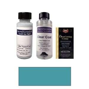 2 Oz. Medium Maui Blue Metallic Paint Bottle Kit for 1992