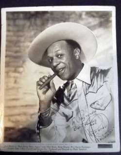 EDDIE ANDERSON / ROCHESTER (JACK BENNY RIDES AGAIN) ORIG,1940