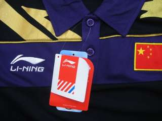 Li Ning China Team Table Tennis Shirt, 2010 Moscow ,,AAYE245