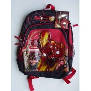 Iron Man Backpack Book Bag Toys & Games