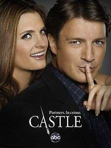 TV Poster   Castle, abc, Nathan Fillion, Stana Katic, 12 x 8 (3