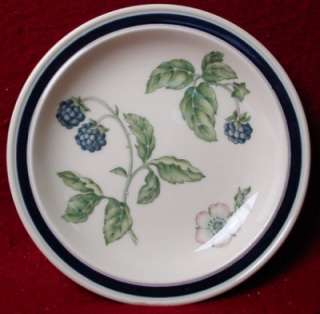 WEDGWOOD china BRAMBLE oven to table BREAD PLATE