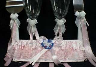 HELLO KITTY SANRIO wedding Cake topper Gift LOT pink
