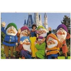 Walt Disney World Magic Kingdom Fairy Tale Friends 4x6