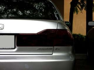 Smoked Kit Honda Accord Taillight Smoke Tint Cover jdm