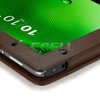 LEATHER FOLIO CASE STAND COVER FOR ACER ICONIA TAB A500