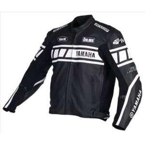 Joe Rocket Yamaha Champion Superbike Mens Leather Motorcycle Jacket