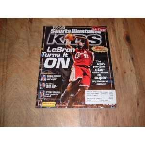 LeBron James, Cleveland Cavaliers, Sports Illustrated For Kids