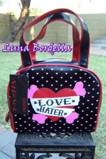 ADDICTED~Love Hater Tattoo Purse/Bag~Gothic/Rockabilly