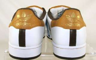 Adidas Mens Superstar II TL Basketball Sneaker Shoes Size 12