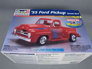 Revell 1955 Ford Pickup Street Rod Deluxe Model Kit