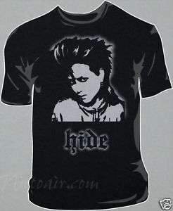 Hide T shirt Airbrushed Stencil X japan jrock airbrush