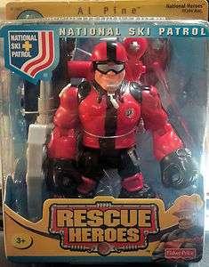Rescue Heroes National Ski Patrol Al Pine B1567 (NEW/SEALED/RARE