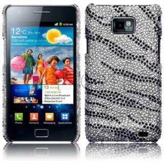 Carcasa tipo diamantes para Samsung Galaxy S2 i9100 modelo Cebra.