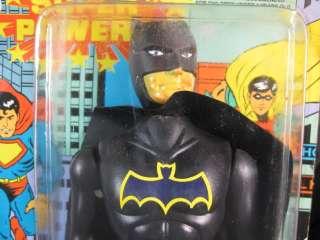 VINTAGE BATMAN ROBIN SUPERMAN TYPE SUPER POWERS ACTION FIGURES