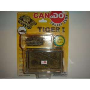 Dragon Models Can.Do Pocket Army 1:144 Tiger I Tank Late