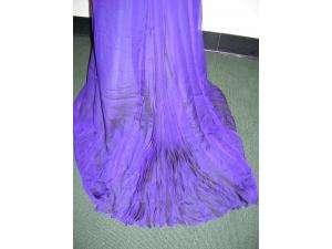VERA WANG Purple Silk Long Gown Dress 4 NWT GORGEOUS