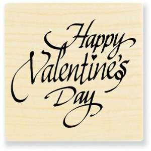 Happy Valentines Day   Rubber Stamps Arts, Crafts & Sewing
