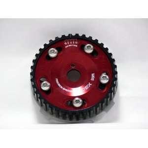 OBX Red Adjustable Cam Gear   01 05 Honda Civic 1.7L D17A