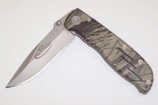 Utica Realtree Camo Folding Lock Back Hunting Knife