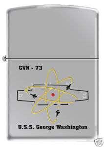 USS George Washington (CVN 73) Zippo Nuke Carrier PC