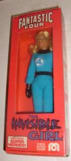 MEGO INVISIBLE GIRL HIGH GRADE BOXED FANTASTIC 4 FIGURE