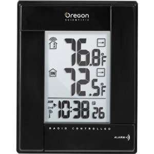 : Wireless Indoor/Outdoor Thermometer with Atomic Clock: Electronics